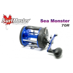 Multiplikatora spole SURF MASTER Sea Monster 70, SMSM70R