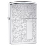 Zippo šķiltavas 352 High Polish Chrome Finish Venetian®